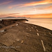 sunrise over the cobb by pixellesley