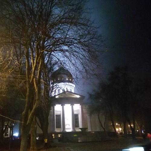 Foggy evening #odessa_ukraine #odessagram #odessa
