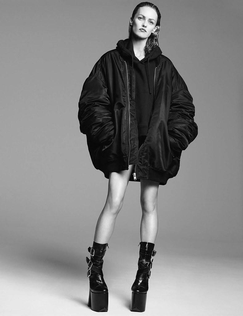 Ванесса Паради — Фотосессия для «Vogue» FR 2015 – 11
