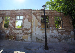 Ruined wall, Plovdiv
