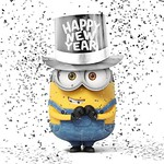 Happy New Year Minion
