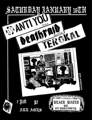 1/16/15 AntiYou/Deathraid/Terokal