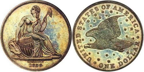 1836 Gobrecht Dollar Judd 58