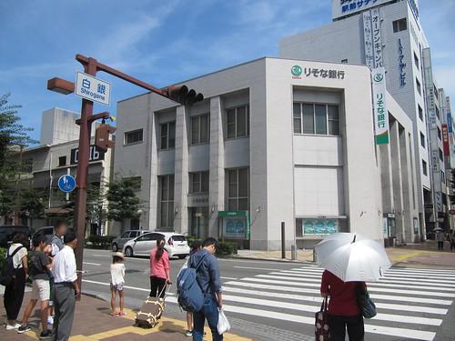 姫路市白銀交差点
