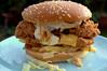 All KFC new original recipe chicken stacker