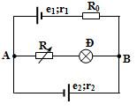 Bài tập định luật Ôm phương pháp nguồn tương đương, vật lý phổ thông
