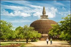 Walking. Polonnaruwa