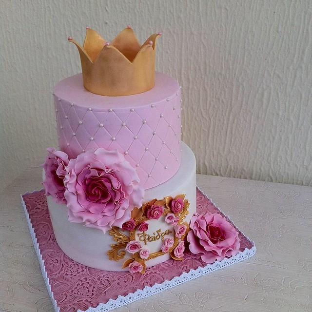 Cake by Vintage Art Cake