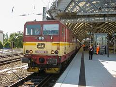 371 002-7 371 003-5 České dráhy Dresden 27.07.09