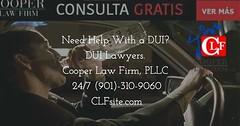 Necesitas ayuda con Tu DUI?  Llámanos al (901) 310-9060  Nosotros te podemos ayudar! CLFsite.com