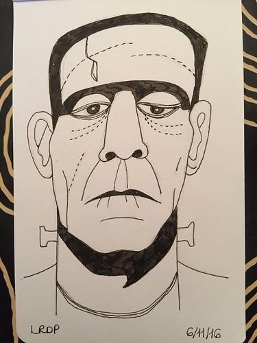 34 Inktober 2016 - Frankenstein's Monster