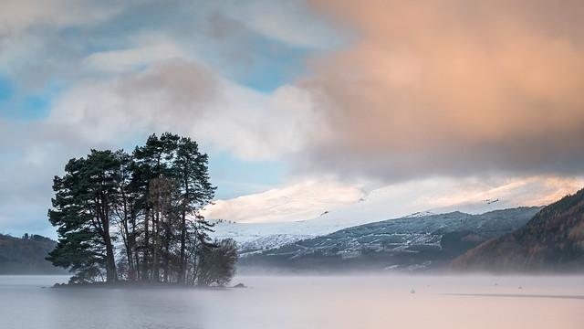 Loch Tay Sunrise, Fujifilm X-T2, XF55-200mmF3.5-4.8 R LM OIS