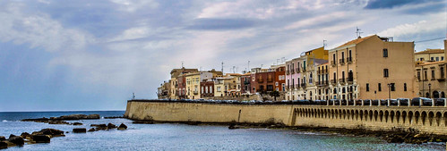 "Siracusa from the book ""Le isole lontane"" by Sergio Albeggiani"