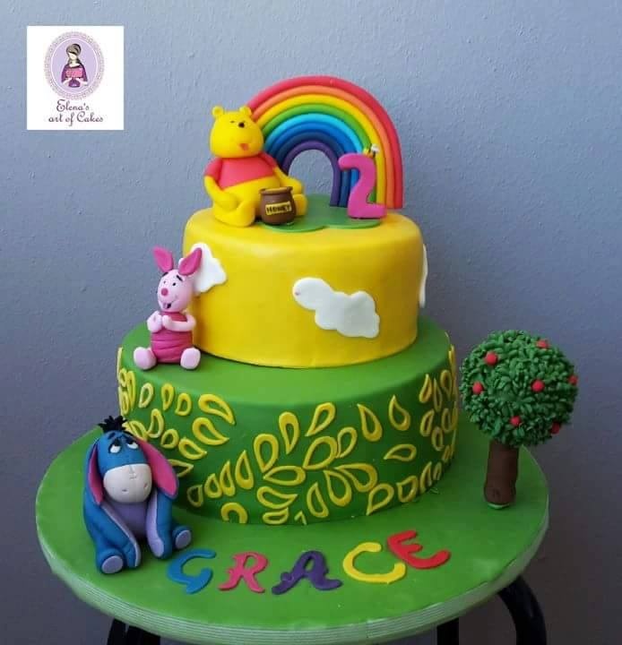 Winnie the Pooh and Friends by Elenas art of cakes