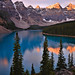 Valley of the Ten Peaks by Kevin Benedict Photography