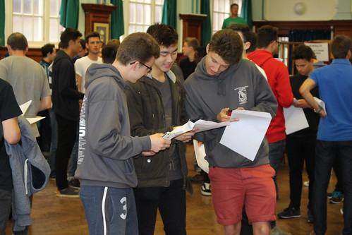 Sutton students celebrate their tremendous A-Level achievement