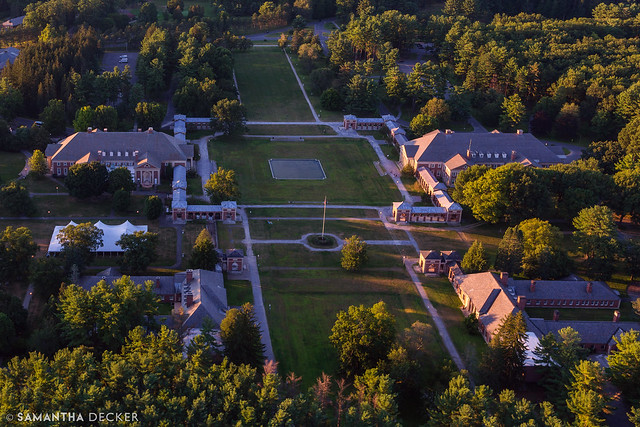 Saratoga Spa State Park from Above