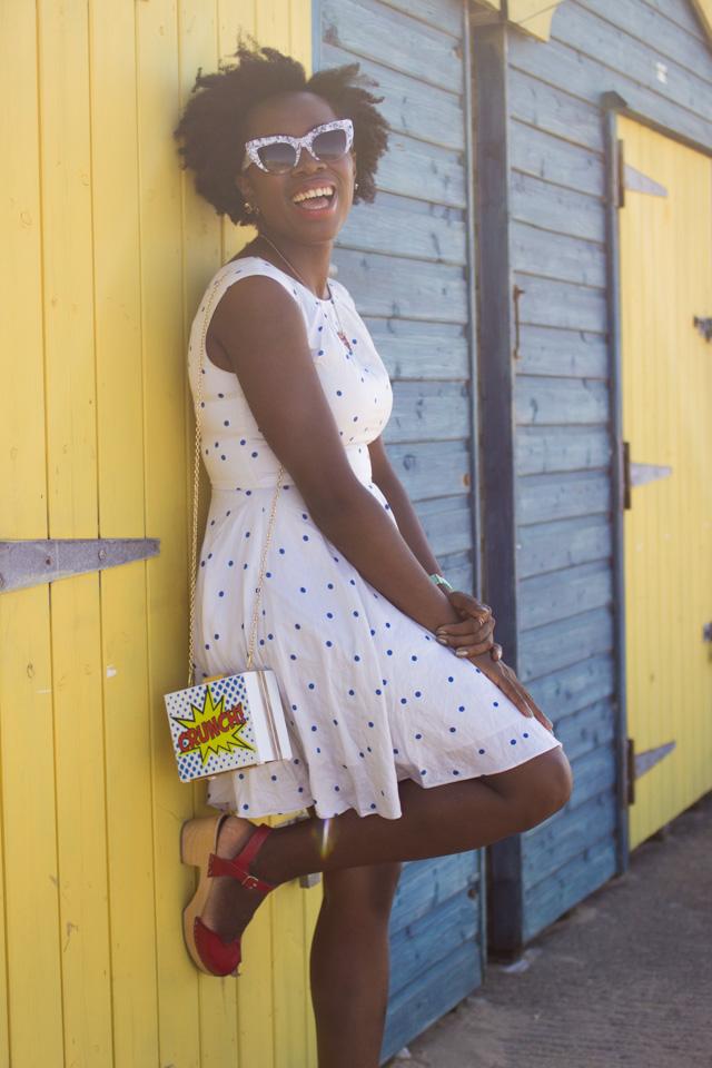 Spotty Boden summer dress