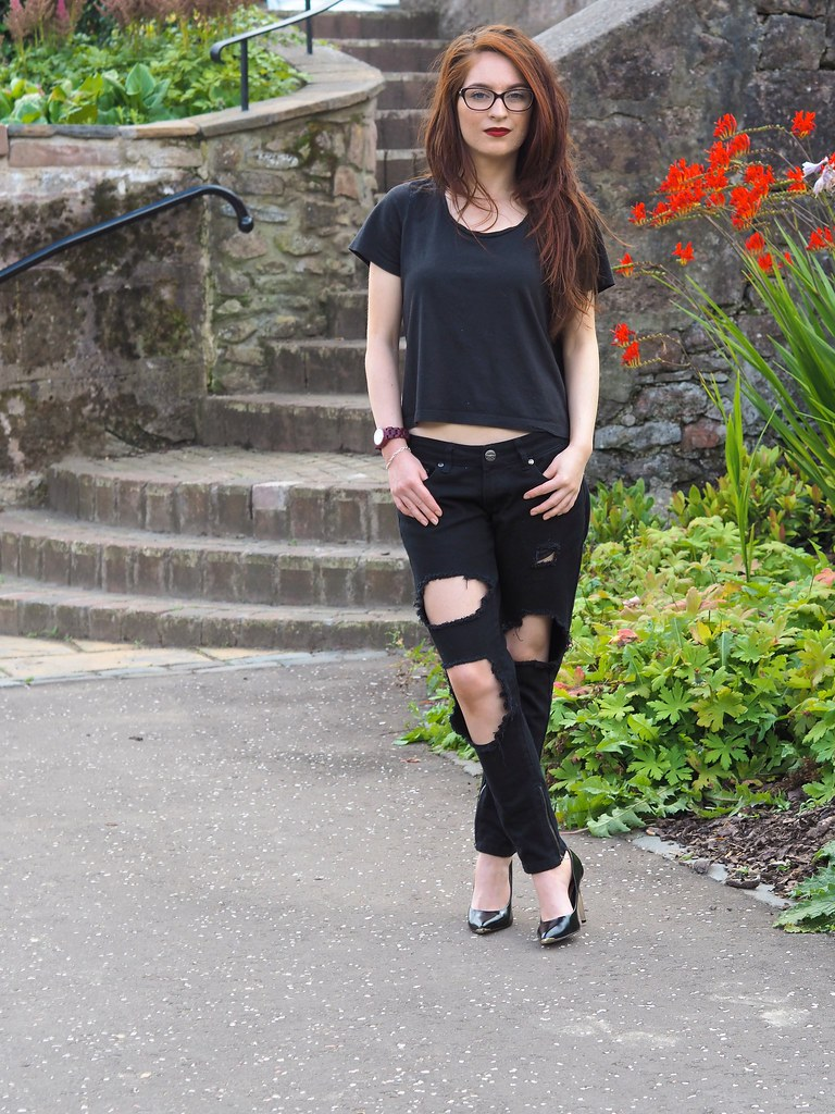 krystelcouture, rippedjeans, styleblogger, streetstyle, tedbaker,