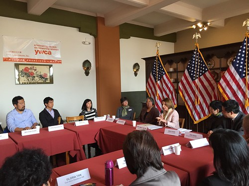 Congresswoman Pelosi holds roundtable with SF Asian Pacific Islander Council