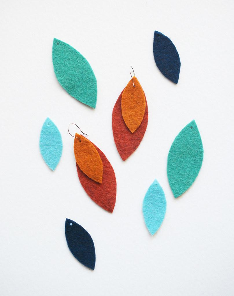 5-Minute Mix 'n' Match Leaf Earrings