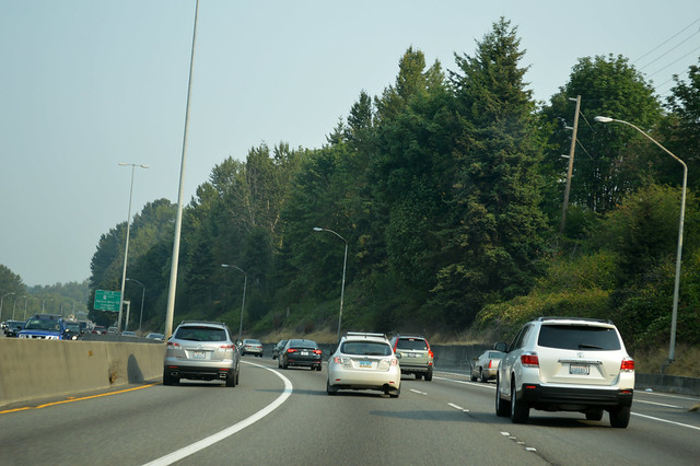 I-405 @ SR 900 westward