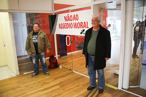 HSBC: Ato contra o assédio moral