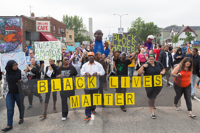 Parade View: Black Lives Matter St. Paul