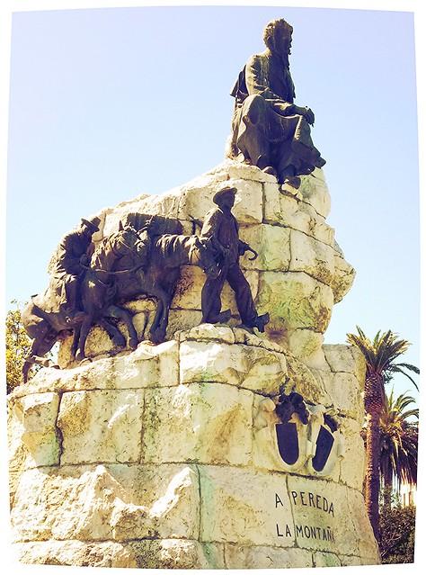 Monumento a José María Pereda