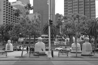 Silencios - Facing downtown