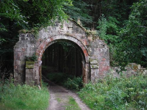 Ornamental Stone Arch Gateway, Wardour Park