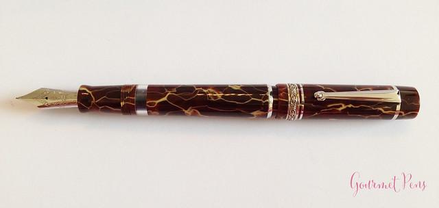 Review Delta Stantuffo Marmo Incrinato LE Fountain Pen @ChatterleyLux (5)