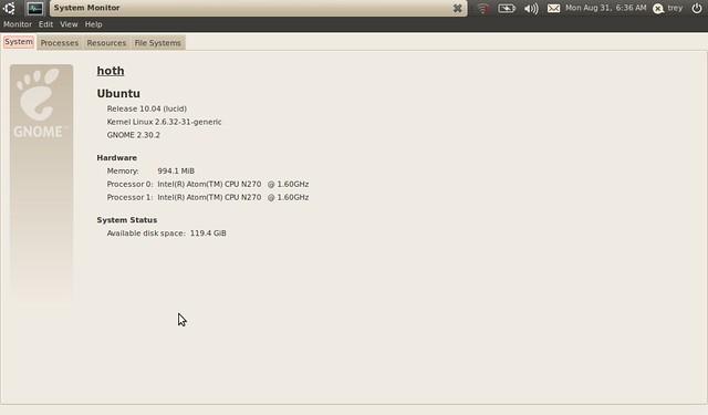 Asus Eee PC 1001HA korszerűsítése projekt #3