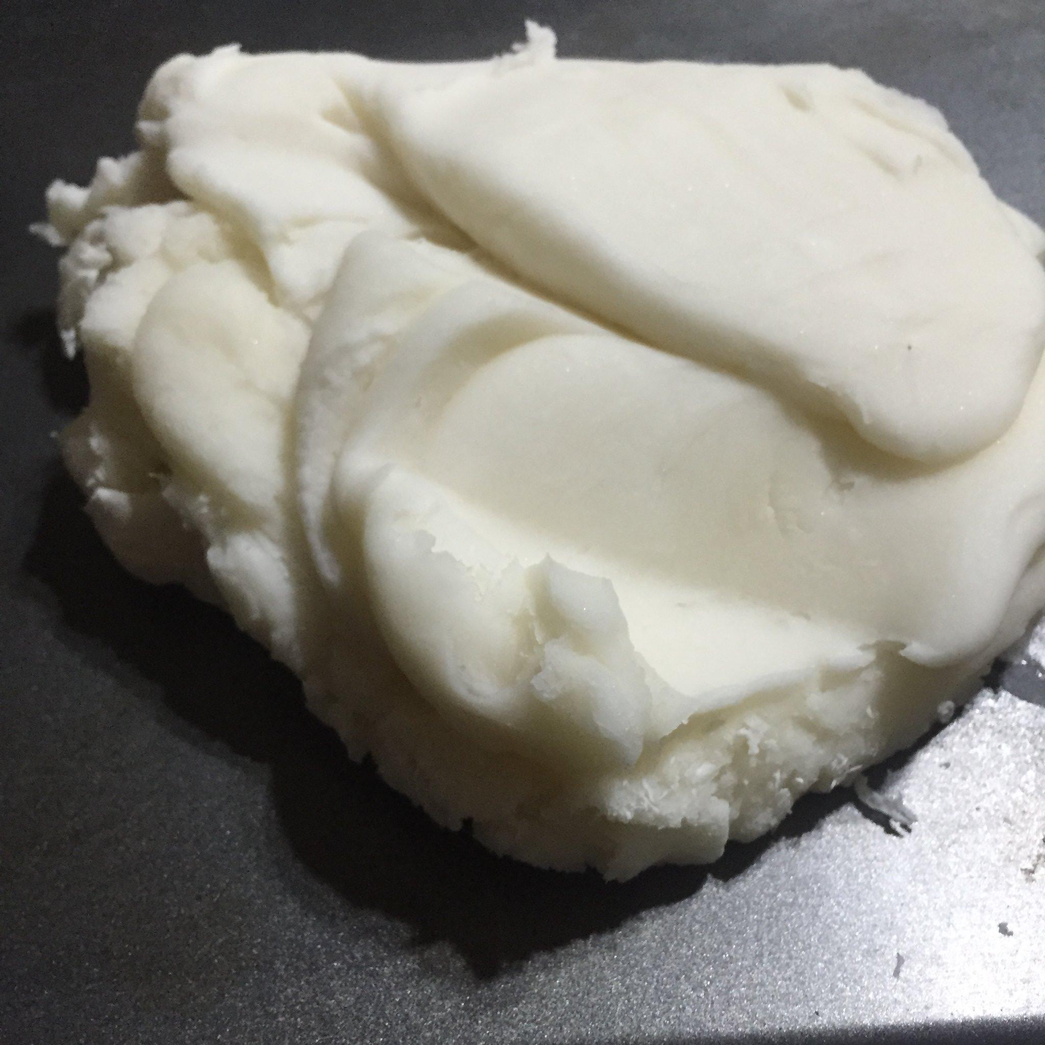 Freshly-made hot playdough