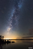 Milky Way over Camden Lake