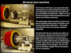 Bi-Axle test machine explanation