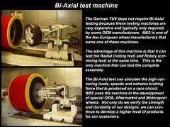 Bi-Axle test machine explanation