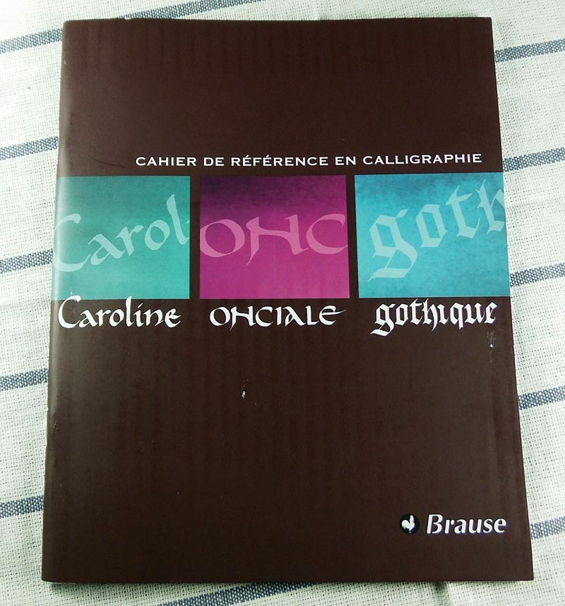 Cuaderno Referencias Caligrafia