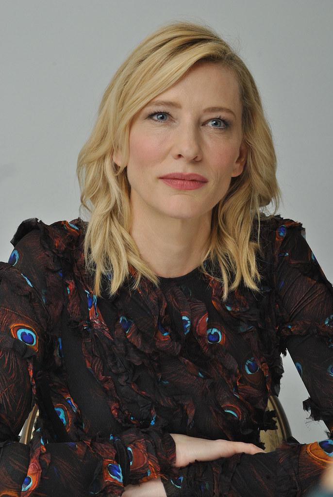 Кейт Бланшетт — Пресс-конференция «Правда» 2015 – 54