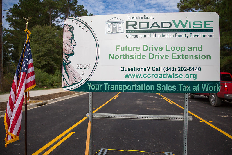 Ceremony Celebrates Completion of Future Drive & Northside Drive Extension Project