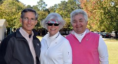 L-R: Past Dist. Gov. Matt Kane, Linda and Tom Williford.