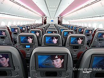 Qatar Airways B787-8 IFE (RD)
