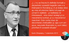 """Sorin Cîmpeanu: """"(…) nu se înscrie în definiţia formală a dezastrelor această tragedie care s-a întâmplat în România"""""""