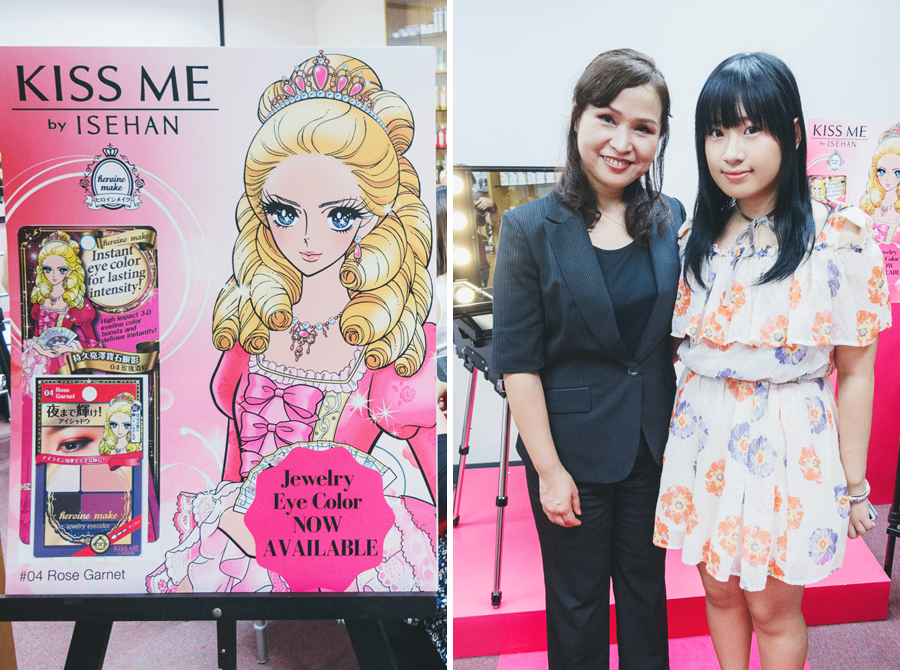 Heroine Make Jewelry Eye Launch | chainyan.co
