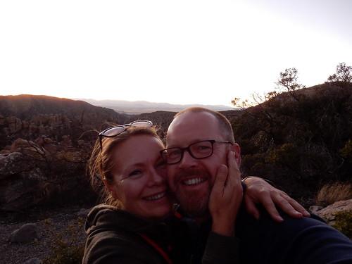 Chiricahua NM - sunset - 2