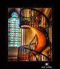 Staircase at Loretto Chapel in Santa Fe by Jim Crotty