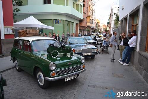 Exposición coches antiguo Gáldar