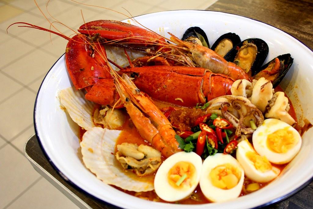 Abb Zabb: Noodle Tomyum Lobster Combo