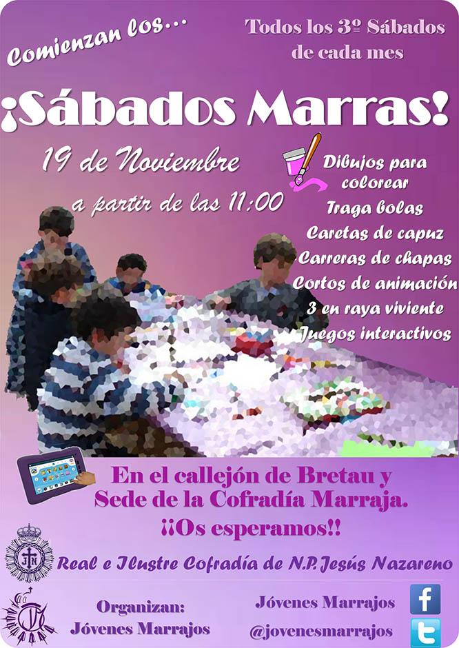 La Cofradía Marraja retoma los Sábados Marras