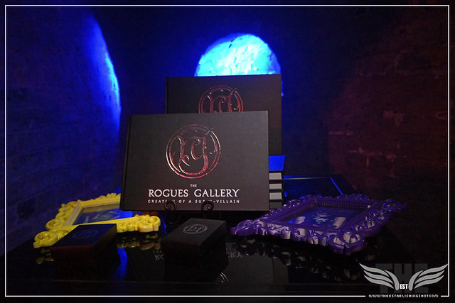 The Establishing Shot: THE ROGUES GALLERY - CREATION OF A   SUPER-VILLAIN BOOK LAUNCH @ THE CRYPT GALLERY, LONDON - OCT 2015